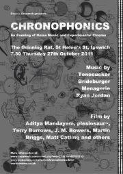 CHRONOPHONICS - TONESUCKER, ONOMA RESEARCH